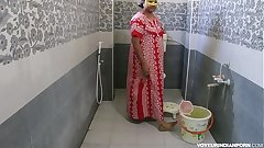 Hot Indian Bhabhi Dipinitta Taking Shower After Rough Sex
