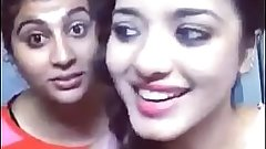 asha and soni pressing boobs doing dubsmash